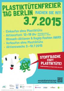 Plakat Plastiktütenfreiertag